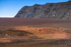 Plaine des Sables, Piton de la Fournaise, Reunion Island. Plaine des Sables, Piton de la Fournaise at Reunion Island Royalty Free Stock Image
