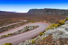 Plaine des Sables, Piton de la Fournaise, Reunion Island. Plaine des Sables, Piton de la Fournaise at Reunion Island Stock Photos