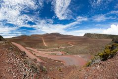Plaine des Sables, Reunion Island Stock Photos