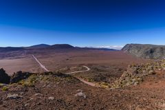 Plaine DES-Zobel, Piton de la Fournaise, Reunion Island lizenzfreie stockfotos