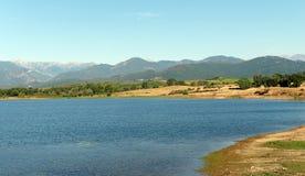 Plaine orientale de la Corse image stock