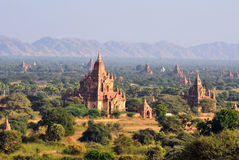 Plaines de Bagan Images libres de droits