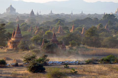 Plaines de Bagan Photo libre de droits