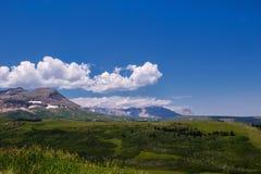 Plaines de haute montagne Images stock