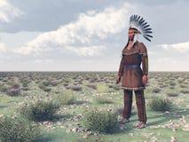 Plains Indian Stock Photos