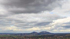 Plains Tivoli. Zoom, Italy. Time Lapse. HDR. 4K stock footage