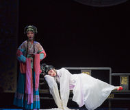 "Plaintiveness disease- chilly temple-Jiangxi opera ""Red pearl"" Royalty Free Stock Photos"