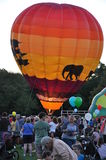 2015 Plainville (CT) Fire Company's Hot Air Balloon Festival Stock Photos
