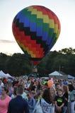 2015 Plainville Pożarniczej firmy gorącego powietrza balonu festiwal (CT) Obrazy Royalty Free