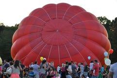 2015 Plainville Pożarniczej firmy gorącego powietrza balonu festiwal (CT) Fotografia Royalty Free