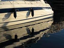 Plaisance. parties d'amortisseurs maritimes de yacht Image stock