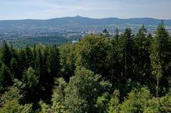 Plaisanté et Liberec, République Tchèque image libre de droits
