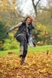 Plaisir d'automne photographie stock libre de droits