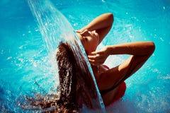 Plaisir dans l'eau Photo libre de droits