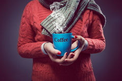 Plaisir de café Photos libres de droits
