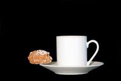 Plaisir de café et de biscuit Image stock