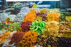 Plaisir turc, bonbons, bazar grand Istanbul de boutique de sucrerie Image libre de droits