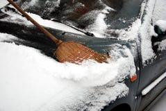 Plaisirs de l'hiver Photographie stock