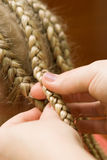 Plait braid Stock Photo