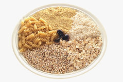 Plait with cereals Royalty Free Stock Photos