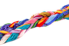 Plait of colour Stock Photos