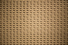 Plaited background. With woven technique wich is usually used for basketry, creating an effect of little squares stock photography