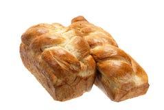 Plaited bread. Stock Photos