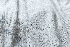 Plaited fabric. In detail mode royalty free stock image