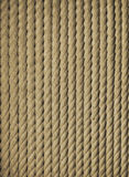 Plaited rope. S as the background stock photo