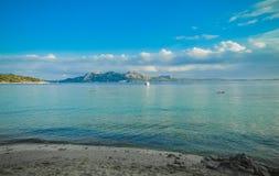 Plaja de Formentor, Majorque Image stock