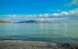 Plaja De Formentor, Mallorca Obraz Stock