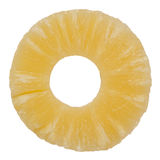 De plak van de ananas Royalty-vrije Stock Foto's