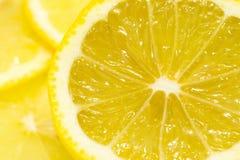 Plak van citroen Royalty-vrije Stock Afbeeldingen