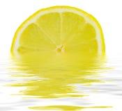 Plak van citroen Royalty-vrije Stock Fotografie
