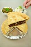 Plak van de Pastei van het Rundvlees Stock Fotografie