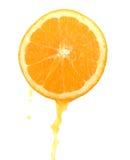 Plak van een sinaasappel stock afbeeldingen