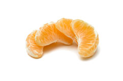 Plak van mandarin Stock Foto's