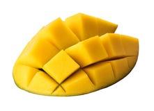 Plak van mangoclose-up Royalty-vrije Stock Afbeelding