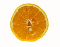 Plak van oranje fruit Stock Afbeelding