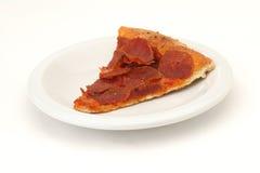 Plak van pizza stock foto