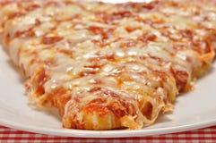 Plak van Pizza Stock Afbeeldingen