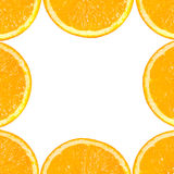 Plak van sinaasappel. stock foto
