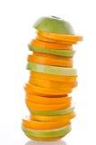 Plak van sinaasappel. royalty-vrije stock foto