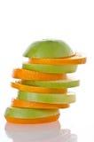 Plak van sinaasappel. royalty-vrije stock foto's
