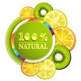 Plak van sinaasappel Royalty-vrije Stock Foto
