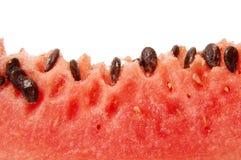 Plak van watermeloen stock foto
