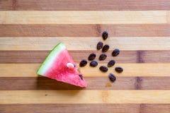 Plak van watermelone Stock Foto's