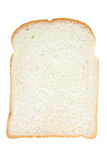 Plak van wit brood stock foto's