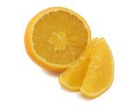 Plak van zoete smakelijke sinaasappel Stock Fotografie