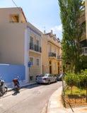Plaka, Athènes, Grèce Photos libres de droits